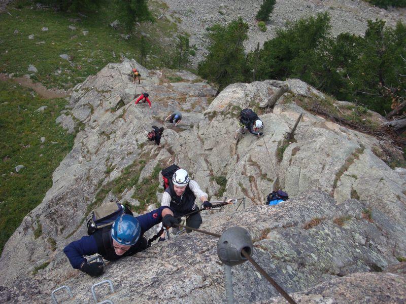 Klettersteig La Resgia : La resgia 2325m
