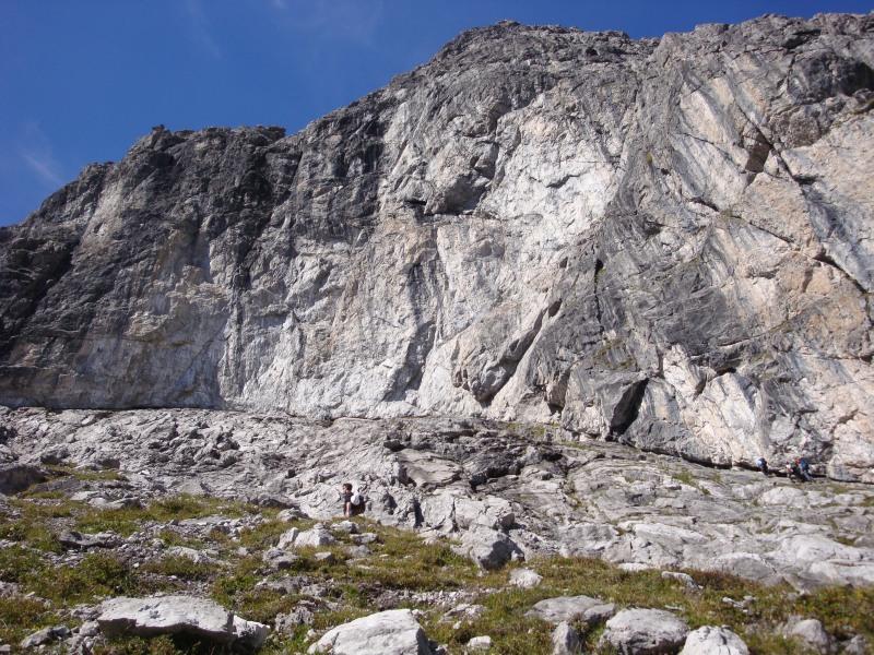 Klettersteig Saulakopf : Saulakopf m