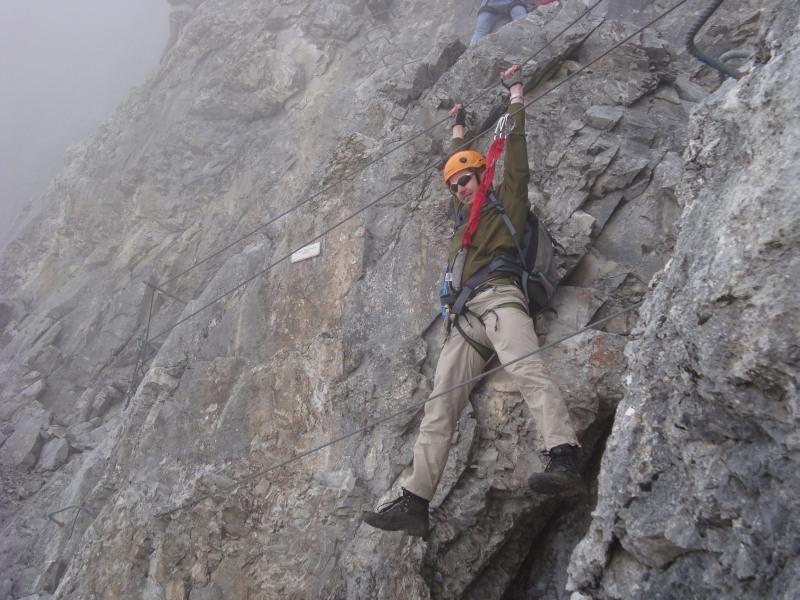 Klettersteig Sulzfluh : Sulzfluh m